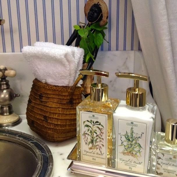 Decoracao Banheiro Bandeja - 118 melhores imagens sobre Bandeja para lavabobanheiros no Pinterest  Decor