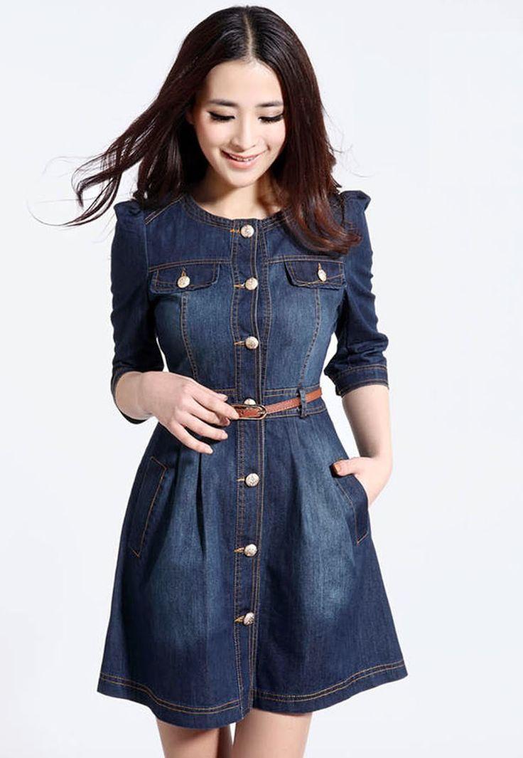 """Como sabemos, esta temporada el estilo """" denim """" se ha puesto de moda, el jean continúa siendo una prenda que no puede faltar en el armar..."""