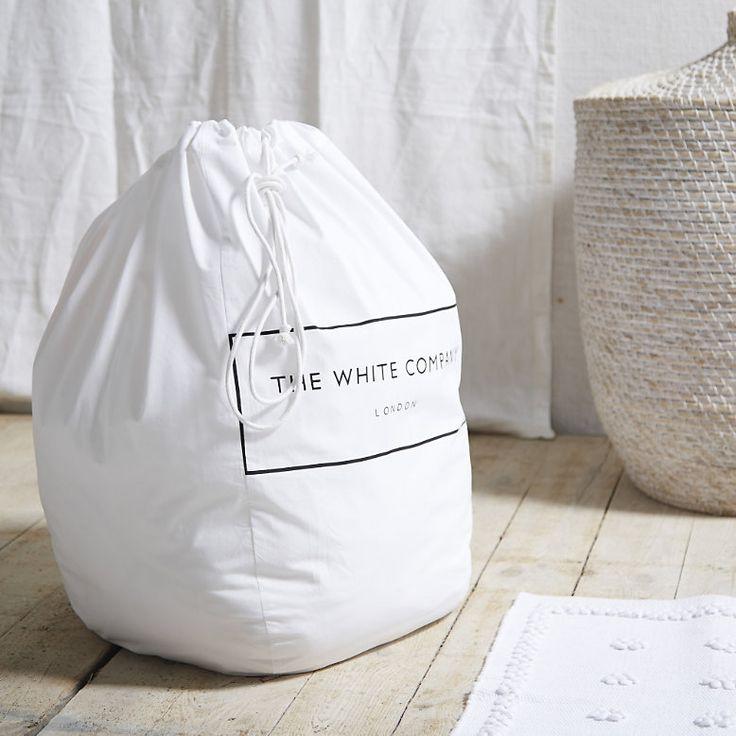 The White Company Laundry bag