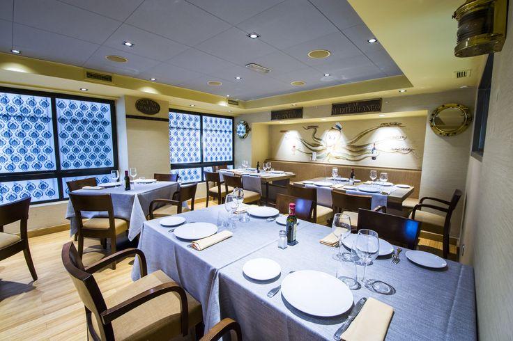 Restaurante El Patrón, interior del salón-comedor.