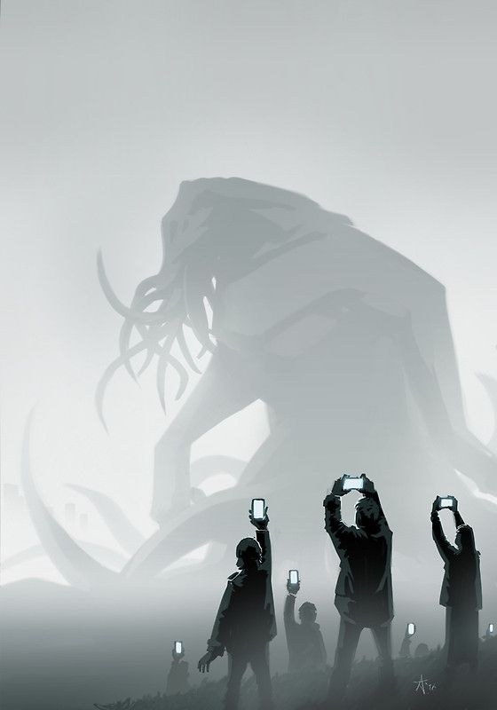 The End by Alister Lockhart http://www.redbubble.com/people/alisterlockhart/works/21944885-the-end-lol