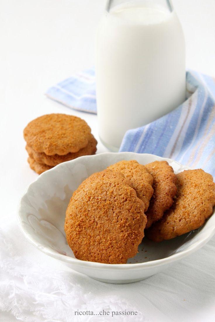 ricotta...che passione: Nei biscotti lo zucchero può fare la differenza
