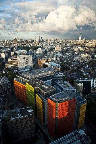 Central St. Giles Londra - #architecture