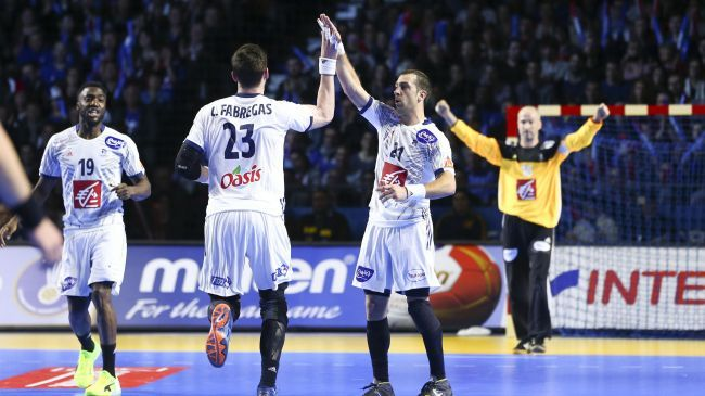 Michaël Guigou, Ludovic Fabregas et Luc Abalo contre le Japon