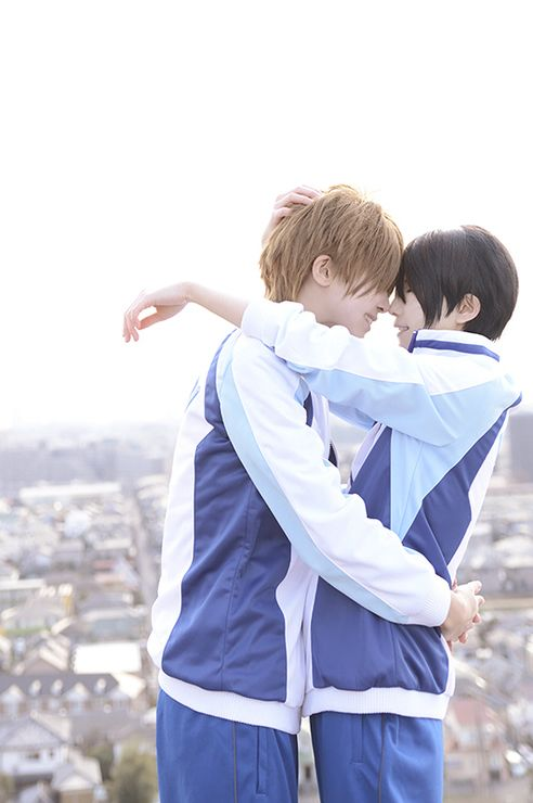 Tachibana Makoto & Haruka Nanase (kuryu) | Free! #cosplay #anime