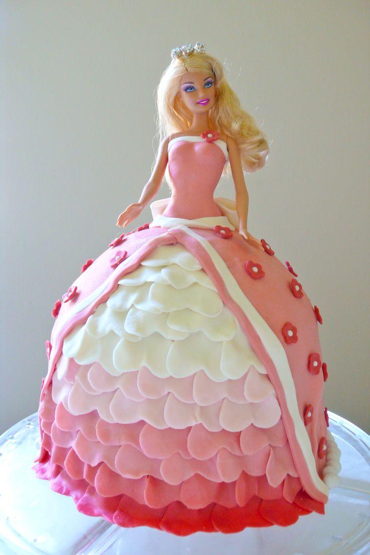 246 best DressDoll cakes images on Pinterest Doll cakes Fondant