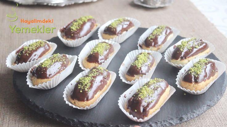 Ev Yapımı Ekler Tarifi ,  #eklerkreması #eklertürkçe #kedidilieklertarifi #kolayeklertarifi , Tatlı tariflerini sevmeyen yoktur herhalde. Şimdi güzel ve herkes tarafından sevilen bir tatlı olan ekler pasta yapımı hazırladık. Sizde ev h...