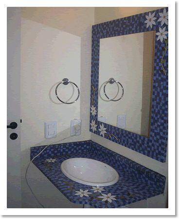 espelhos em mosaico - Pesquisa Google