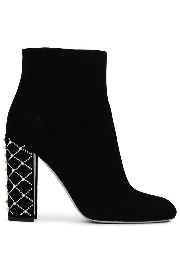 black heeled ankle boots sale