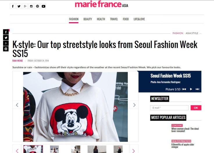 Seoul Fashion Week streetstyle photos on mariefranceasia.com