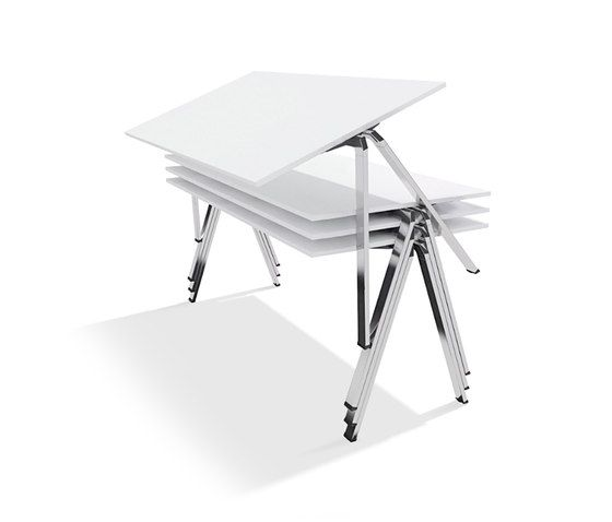 yuno stacking table by Wiesner-Hager | Multipurpose tables