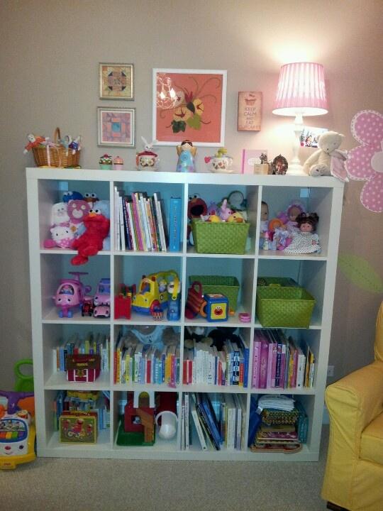 New Bookcase Toy Box White Finish Bedroom Playroom Child: Ikea Toy Storage