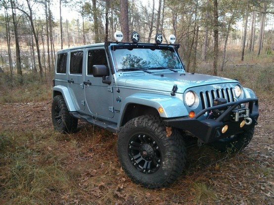 jeep, wrangler, blue, unlimited