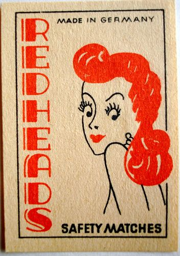 Matchbox label (Germany)