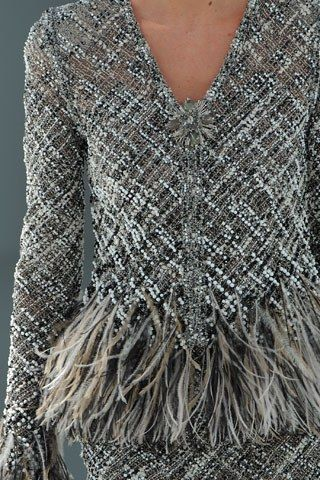 Chanel Fall 2008 Couture Fashion Show Details