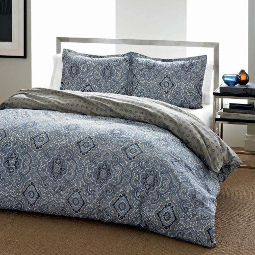 City Scene Milan Blue Duvet Cover Set, King City Scene http://smile.amazon.com/dp/B00GD0LRMG/ref=cm_sw_r_pi_dp_Pp3twb07H100S