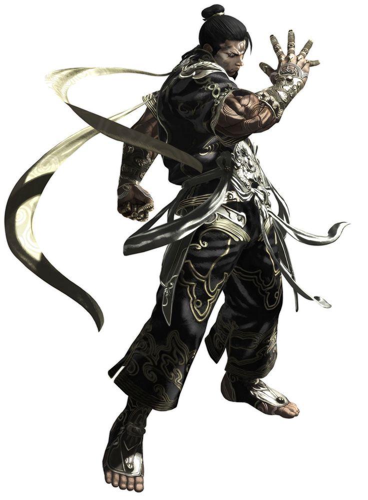 ✧ #characterconcepts ✧ Asura's Wrath - Yasha (artist unknown) *