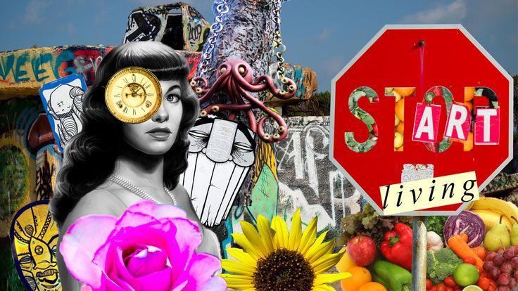 Collage: Start Living | Photoshop Collage | Pinterest | Photoshop ...