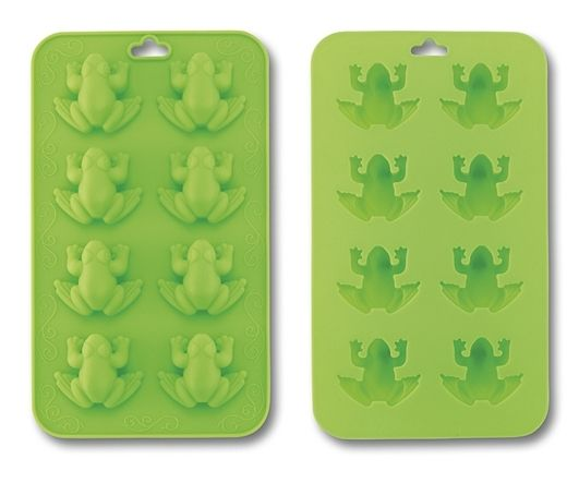 Passover Frog Ice Cube, Chocolate, Jello Silicon Molds - $5.95