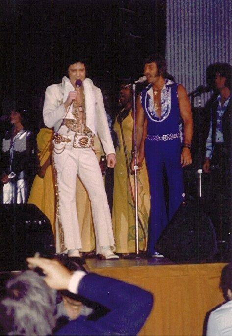 Elvis Presley on Tour....June 24, 1977 (8:30 pm) Madison, WI.