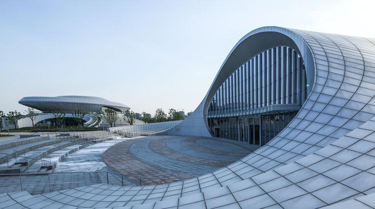 Completed in 2016 in Kunshang , China. Images by Xianliang Zeng. Kunshan…