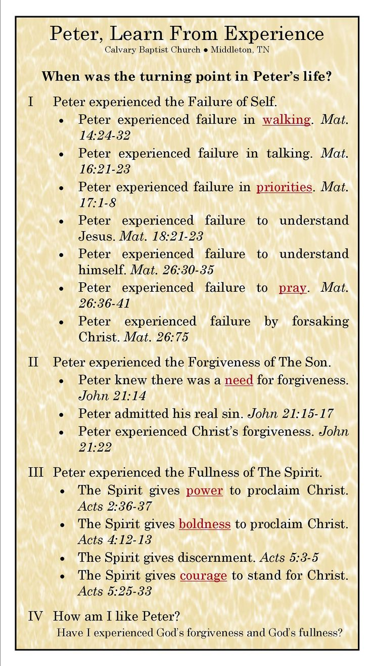 The Sacred Page: Is Peter