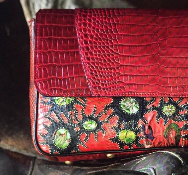 #maisonravn #croco #red #luxury