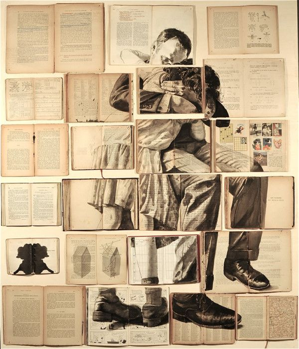 Book Art by Ekaterina Panikanova - 20  Clever and Cool Old Book Art Examples, http://hative.com/old-book-art-examples/,