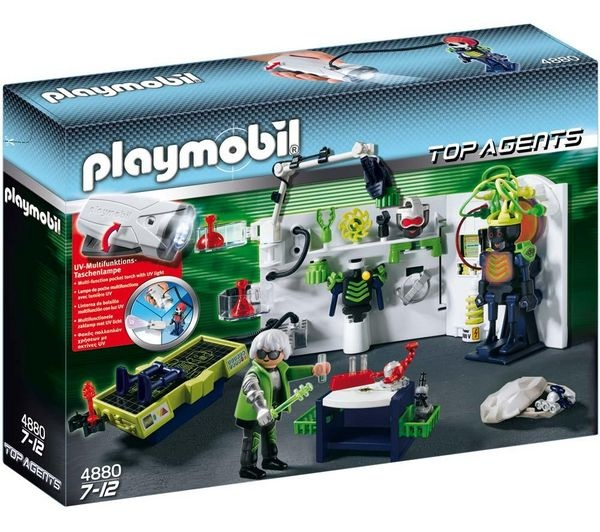 Playmobil Top Agents Robo Gang lab - for F's birthday?