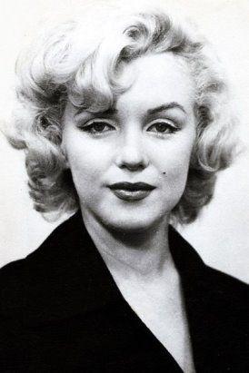 Мэрилин Монро. Фото на паспорт, 1954 г.