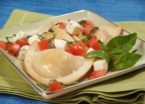 This Pierogy Bruschetta is great as an appetizer or side dish!