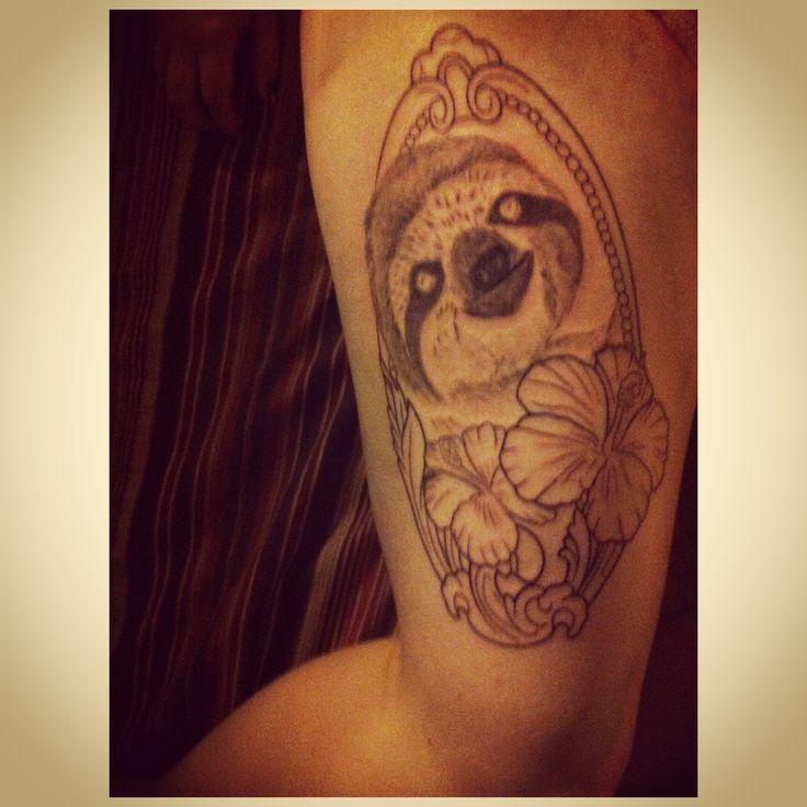 pin sloth tattoo designs on pinterest. Black Bedroom Furniture Sets. Home Design Ideas