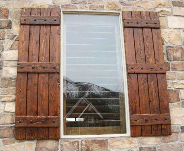 Lovely Exterior Window Shutter Design Ideas Wohnung Wohnzimmer Hausdekor Schlafzimmer Dekoration Woh House Shutters Wood Shutters Exterior House Exterior