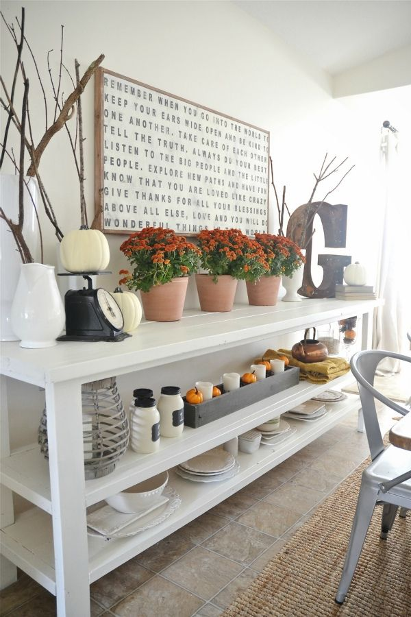 best 20+ buffet table ideas decor dining rooms ideas on pinterest