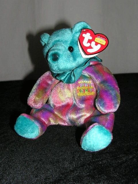 BEAR HAPPY BIRTHDAY DECEMBER TY BEARS CUTE NEW BEAR http://stores.ebay.com/store4angels?refid=store come see our store front always have great sales