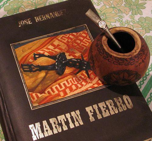 The book Martin Fierro, the gaucho life.   www.zazzle.com/vickybonifacio