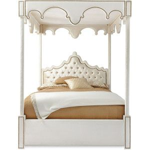 Haute House William Queen Canopy Bed