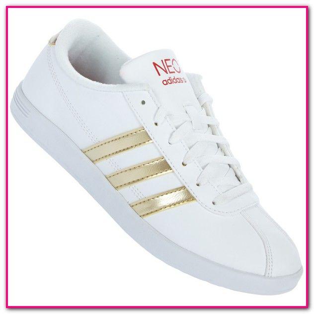 Adidas Damen Sneaker Weiß Gold Das Schuhparadies für Frauen