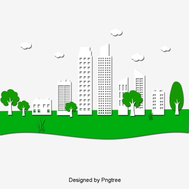 Green City Tall Building Creative Design Material City Green Tower Png Transparent Clipart Image And Psd File For Free Download Creative Design Green City Clip Art