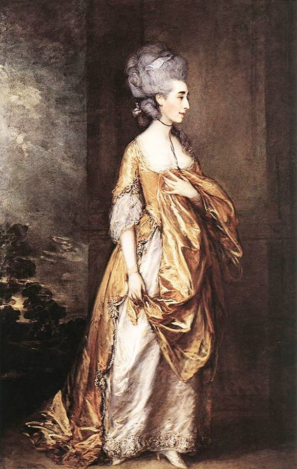 Artist: Thomas Gainsborough Title: Mrs Grace Dalrymple Elliot