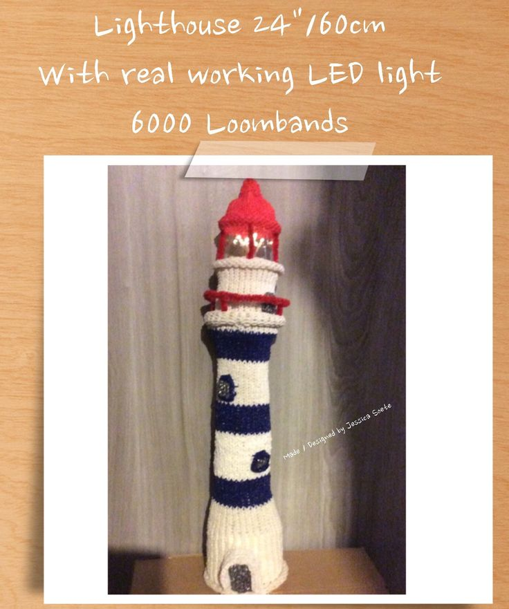 Rainbow Loom 'Lighthouse' December 2014