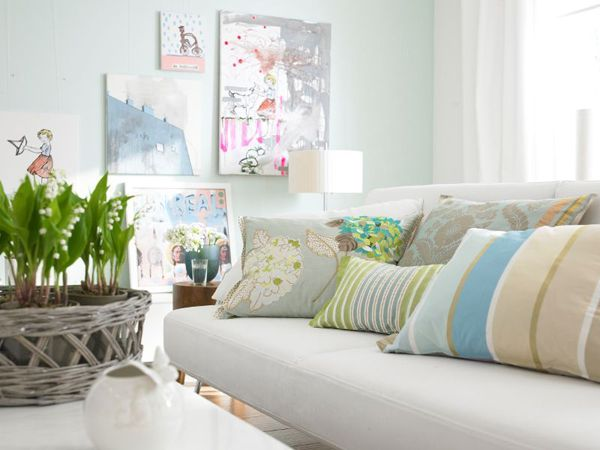 Living Room , Pastel Wall Colors For Living Rooms : Mint Green Pastel Wall  Colors For Living Rooms