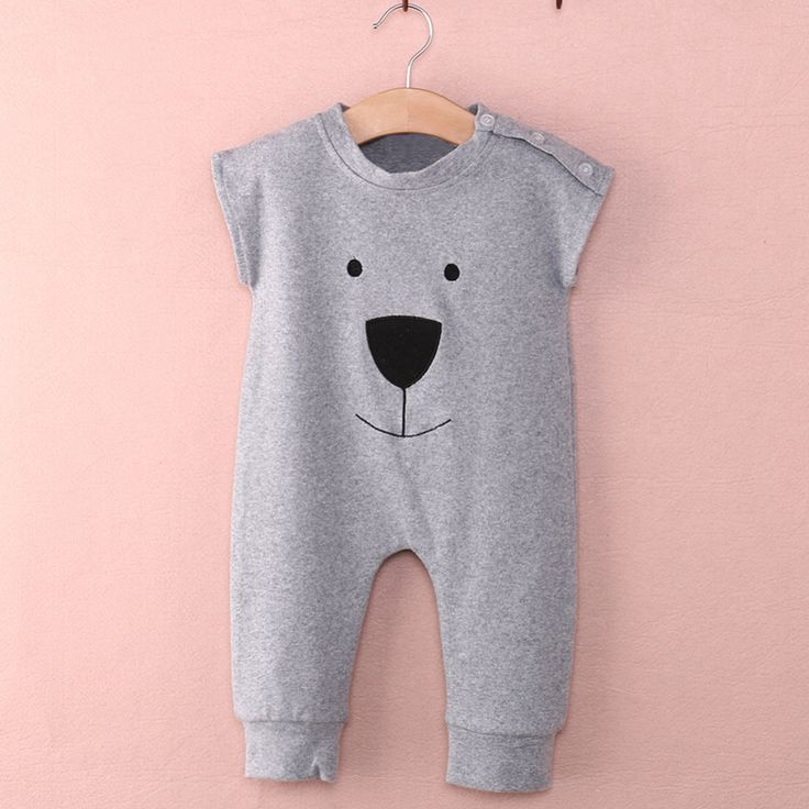 Cute Baby Rompers Newborn Baby Clothes Infant Jumpsuit Cartoon Animals Printed Playsuit Toddler Baby Girls Boys Overall Wear Y3-in Rompers from Mother & Kids on Aliexpress.com | Alibaba Group