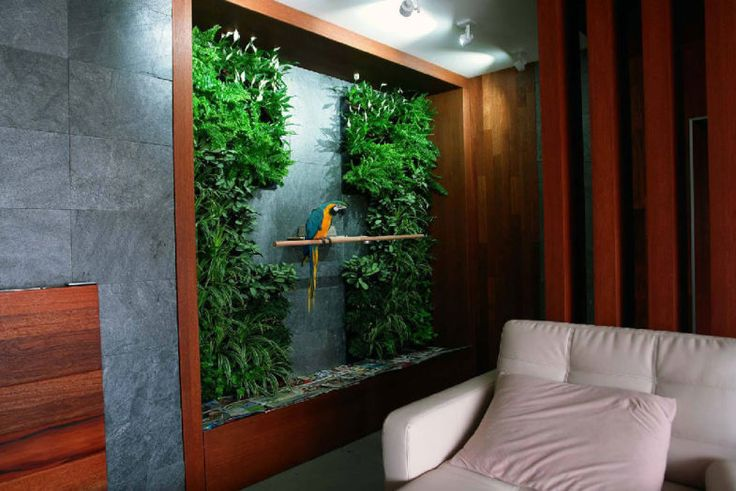 Jedna ściana, mnóstwo możliwości   Inspirowani Naturą   living wall by terra - terrawall.eu