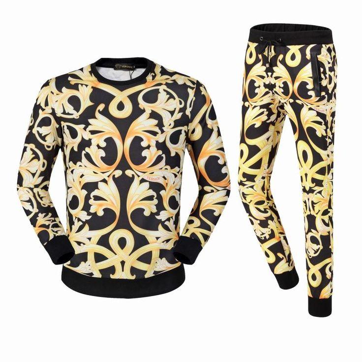Versace hoodies sets, sweatshirts and pants for men
