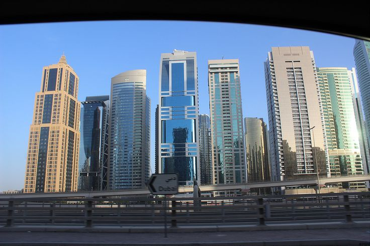 Dubai from the road 12 Thinking of visiting Dubai? GET THE BEST DEALS ON ACCOMMODATION IN DUBAI HERE Our hotel…