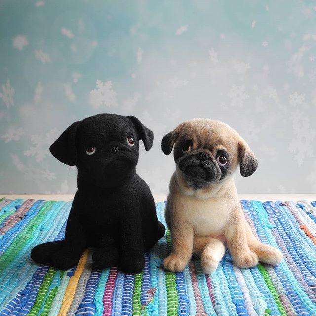 Sobaki Valyanie Iz Shersti Felted Dogs Instagram Photos And