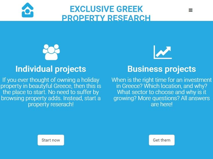 Exclusive Greek Property Research