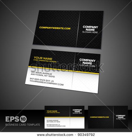 31 best business design photos images on pinterest business design black and yellow business card template with patterned background stock vector reheart Choice Image