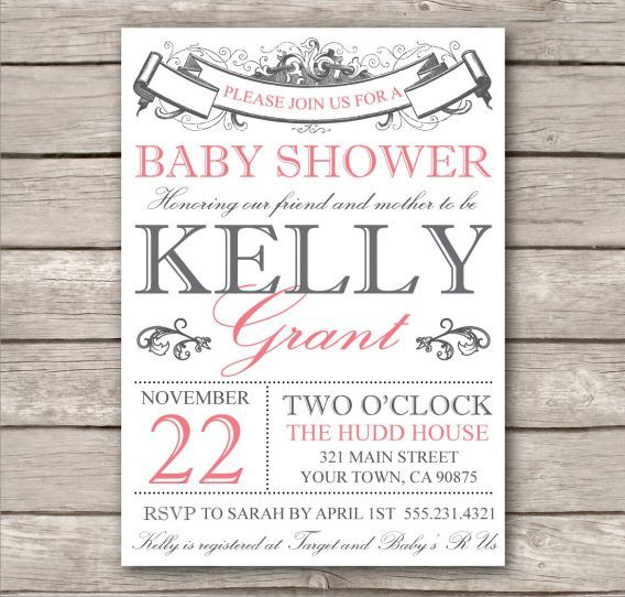 16 best Free Baby Shower Invites images on Pinterest Baby girl - baby shower invitations templates free